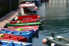 Luarca, Asturias, Spain Stock Photo