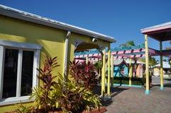 Port Lucaya at bahamas Stock Image
