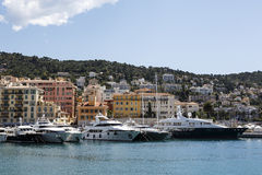 Port Lympia in Nice in France Royalty Free Stock Images