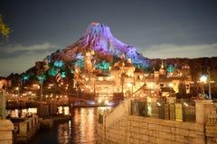 Port méditerranéen de mer de Tokyo Disney Images stock