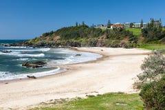 Port Macquarie de plage d'Oxley Photos libres de droits