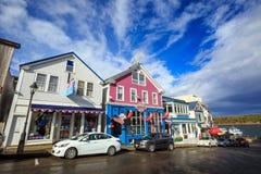 Port Maine de bar photographie stock