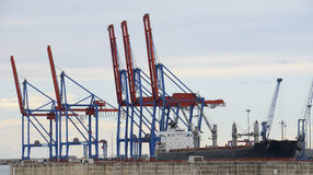 Port of  Malaga Royalty Free Stock Images