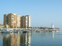 Port of Malaga, Muelle uno. Stock Image