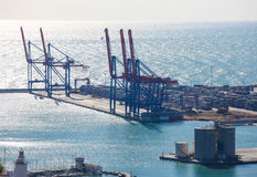 Port of Malaga Royalty Free Stock Image