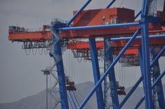 Port in Malaga stock photo