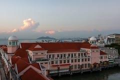 Port Malaisie d'installations portuaires et de Penang Images libres de droits