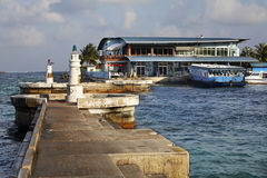 Port in Male. Republic of the Maldives Stock Photography