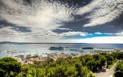 Port of  Mallorca Stock Photography