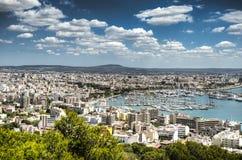Port of  Mallorca Stock Photo