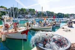 Port Manacor Majorque de marina de Majorca Porto Cristo Image libre de droits