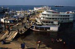 Port of  MANAUS Stock Photo