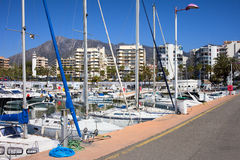 Port in Marbella Stock Photos