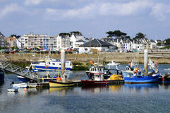 Port Maria at Quiberon in France Stock Photo
