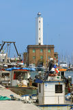 Port of Marina di Ravenna, Italy Royalty Free Stock Photography