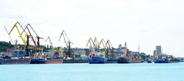 Port maritime photographie stock