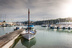 Port maritime Photographie stock libre de droits