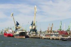 Port maritime Photo stock