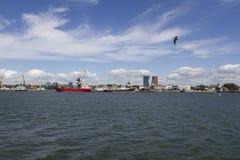 Port maritime Photo libre de droits