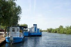 Port maritime de Jurilovca image stock