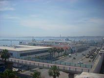 Port maritime de l'Algérie photo stock