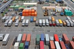 Port maritime de Tokyo Photographie stock