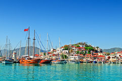 Port of Marmaris Stock Photo