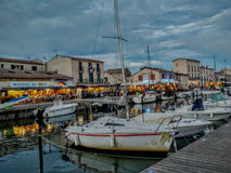 The Port Marseillan in Aude, Languedoc-Roussillon France Royalty Free Stock Image