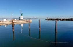 The port of Marseillan - Occitanie - France. The port of Marseillan - Herault - Occitanie - France stock photography