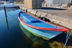 The port of Marseillan - Occitanie - France. The port of Marseillan - Herault - Occitanie - France royalty free stock photo