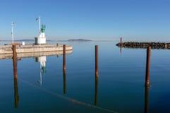 The port of Marseillan - Occitanie - France. The port of Marseillan - Herault - Occitanie - France royalty free stock photography