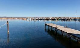 The port of Marseillan - Occitanie - France. The port of Marseillan - Herault - Occitanie - France stock images