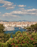 Port of Marseille. View of the port of Marseille Royalty Free Stock Image