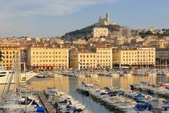 port Marseille Obrazy Royalty Free