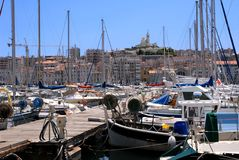 Port of Marseille Royalty Free Stock Photography