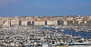 Port of Marseille, France Stock Photo
