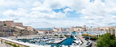 Port Marseille, Francja Zdjęcia Royalty Free