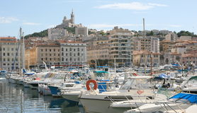 Port of Marseilles Royalty Free Stock Images