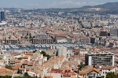 Port of Marseilles, France. Port of Marseilles, Provence, France Stock Photos