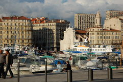 Port of Marseilles, France Stock Images
