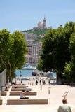 port Marsylii miasta. Zdjęcia Stock