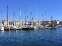 port Marsylii vieux france Zdjęcie Royalty Free