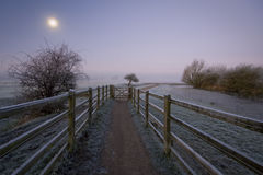 Port Meadow, Oxford Stock Image