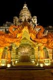Port med elefanthuvud Arkivfoton