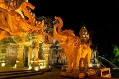 Port med elefanthuvud Royaltyfri Foto