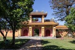 Port med valsen inom citadellen Imperialistiska Forbidden City Royaltyfria Bilder
