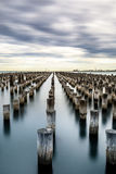 Port Melbourne Royaltyfria Foton