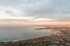 Port Melbourne et Albert Park Photo stock