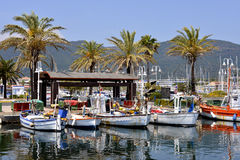 Port MER w Francja Obraz Royalty Free