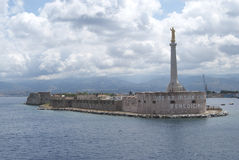 The port of Messina Stock Photos